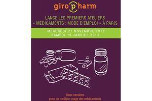 Giropharm organise des ateliers sur le bon usage des médicaments