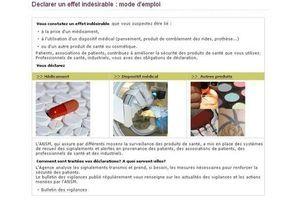 Médicaments : l'ANSM permet de déclarer les effets secondaires en ligne