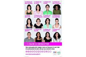 Nouvelle campagne d'information sur la contraception, insistant sur la diversité des méthodes contraceptives