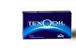 Rappel d'un lot de Texodil 200 mg en boîtes de dix comprimés pelliculés