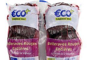 Rappel Betteraves rouges entières cuites €co+ (E.Leclerc)