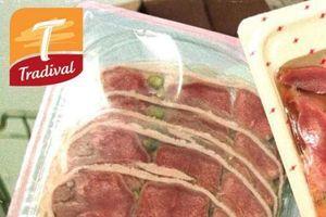 Rappel de langues de porc en gelée de la marque Tradival