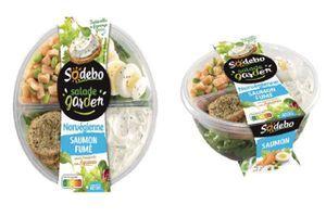 Rappel de salades norvégiennes Sodebo