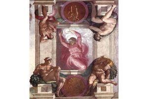 Le cerveau, message secret de Michel Ange dans la chapelle Sixtine