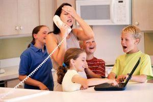 Plus les parents sont stressés, plus le tour de taille des enfants augmente