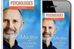 "Psychologies lance son application ""Méditer"""