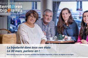 Journée mondiale des troubles bipolaires (30/3) : des réunions dans toute la France pour mieux comprendre la maladie