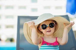 Campagne sur les risques du soleil: gare aux yeux et à la peau des enfants !