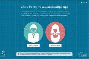 """Cancer : des """"conseils dépistage"""" proposés sur le site de l'InCa"""