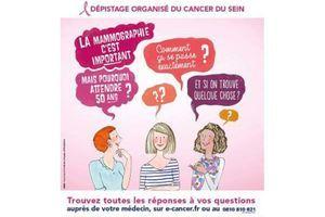Dépistage du cancer du sein : l'InCa opte pour une information plus équilibrée