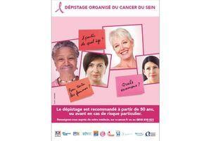 Dépistage du cancer du sein : lancement de la campagne d'information 2014