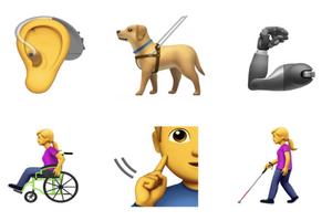 Handicap : Apple propose de nouveaux émojis