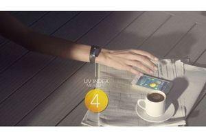June, un bracelet connecté pour surveiller son exposition solaire
