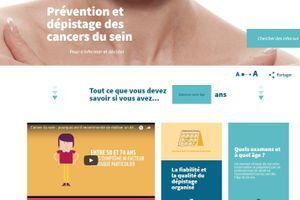 L'Institut du cancer lance un nouveau site sur la prévention et le dépistage des cancers du sein