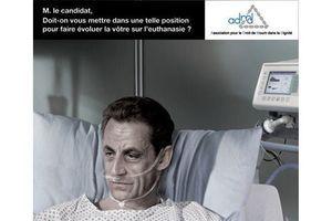 Les pro-euthanasie interpellent Bayrou, Sarkozy et Le Pen