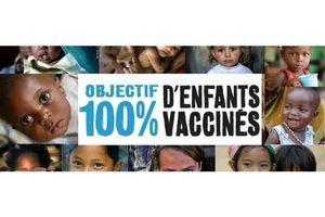 #Objectif100 : tous mobilisés pour 100 % d'enfants vaccinés