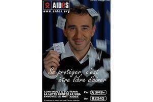 Petite annonce d'Elie contre le sida