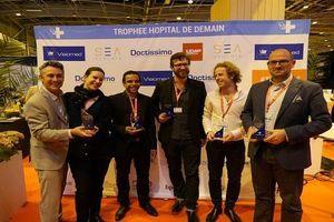 Paris Healthcare Week : les 5 lauréats des Trophées de l'Hôpital de Demain