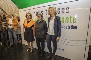 Un dispositif de traitement de l'air testé dans une station de métro à Paris