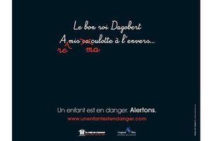 Campagne choc pour dénoncer les violences faites aux enfants