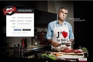 Un site de rencontre réservé aux amoureux de viande de boeuf
