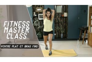 Ventre plat et bras fins (25 min) - Fitness Master Class