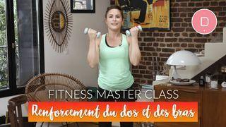 Renforcement du dos et des bras (20 min)– Fitness Master Class
