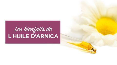 bienfaits huile d'arnica