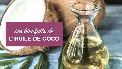 bienfaits huile de coco