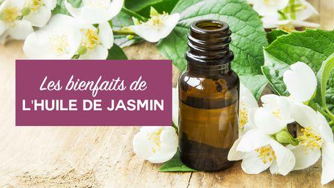 bienfaits huile de jasmin