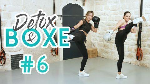 20 min Cardio (focus kick) – DETOX & BOXE