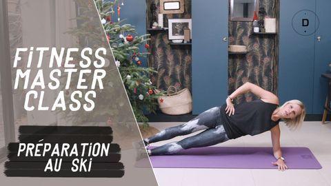 exercices preparation au ski
