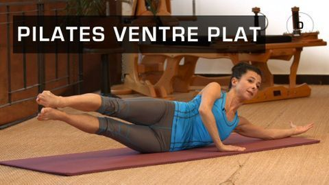 Exercices Pilates pour débutant - Séance de pilates en ligne