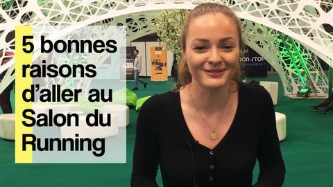 5 bonnes raisons d'aller au Salon du Running