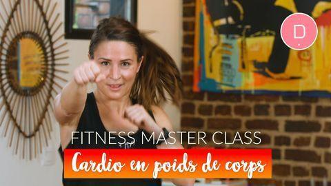 Cardio-training en poids de corps