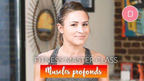 Renforcement des muscles profonds