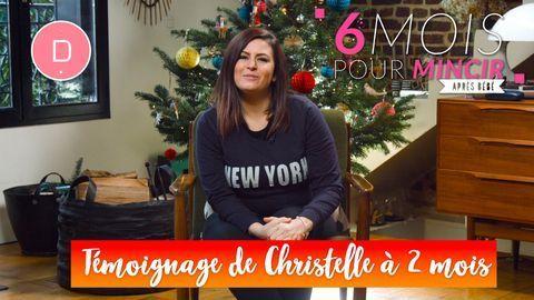 Christelle a perdu  5,5 kg en 2 mois – Témoignage