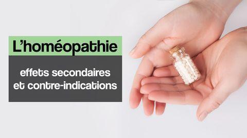 Homéopathie effets indésirables