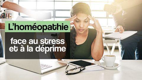 stress déprime homéopathie
