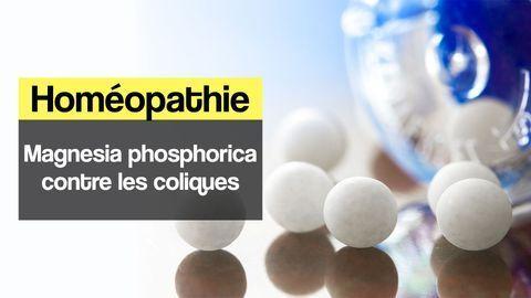 magnesia phosphorica coliques