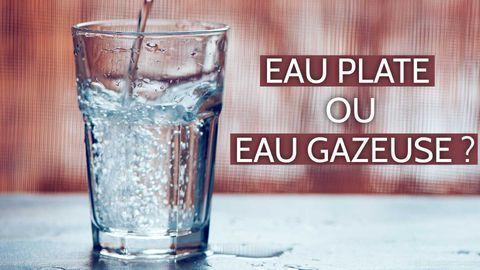 L'eau gazeuse est-elle aussi désaltérante que l'eau plate?