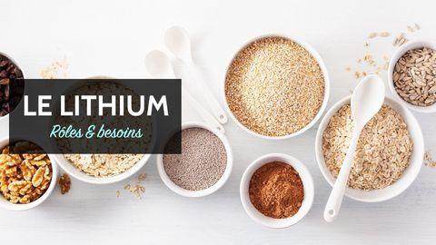 lithium bienfaits