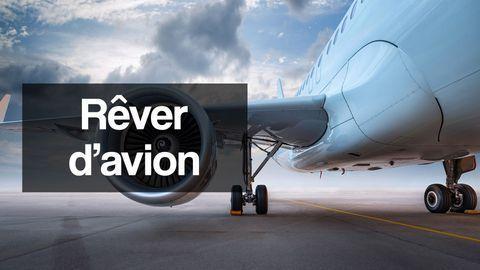 rever d'avion interpretation