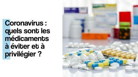 coronavirus medicaments a eviter