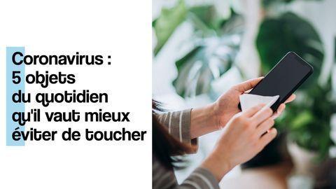 surfaces contaminees coronavirus