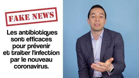 antibiotiques contre coronavirus
