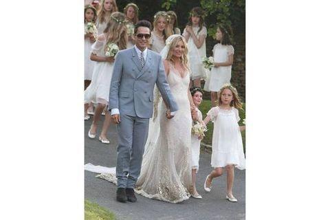 Kate Moss : Les plus beaux clichés de son mariage