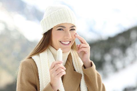 Protégez votre peau du froid