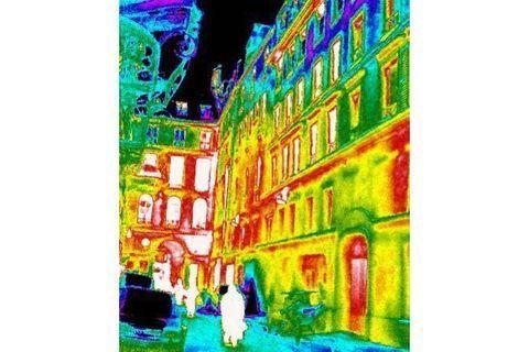 La thermographie de Paris