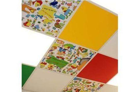 Des plafonds colorés en pédiatrie